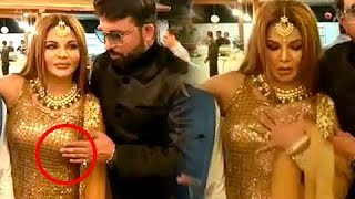This Man Dares To Touch Rakhi Sawant's B00BS In Public, On Camera