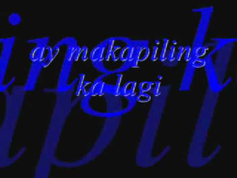 Kailangan Kita by Piolo Pascual with Lyrics