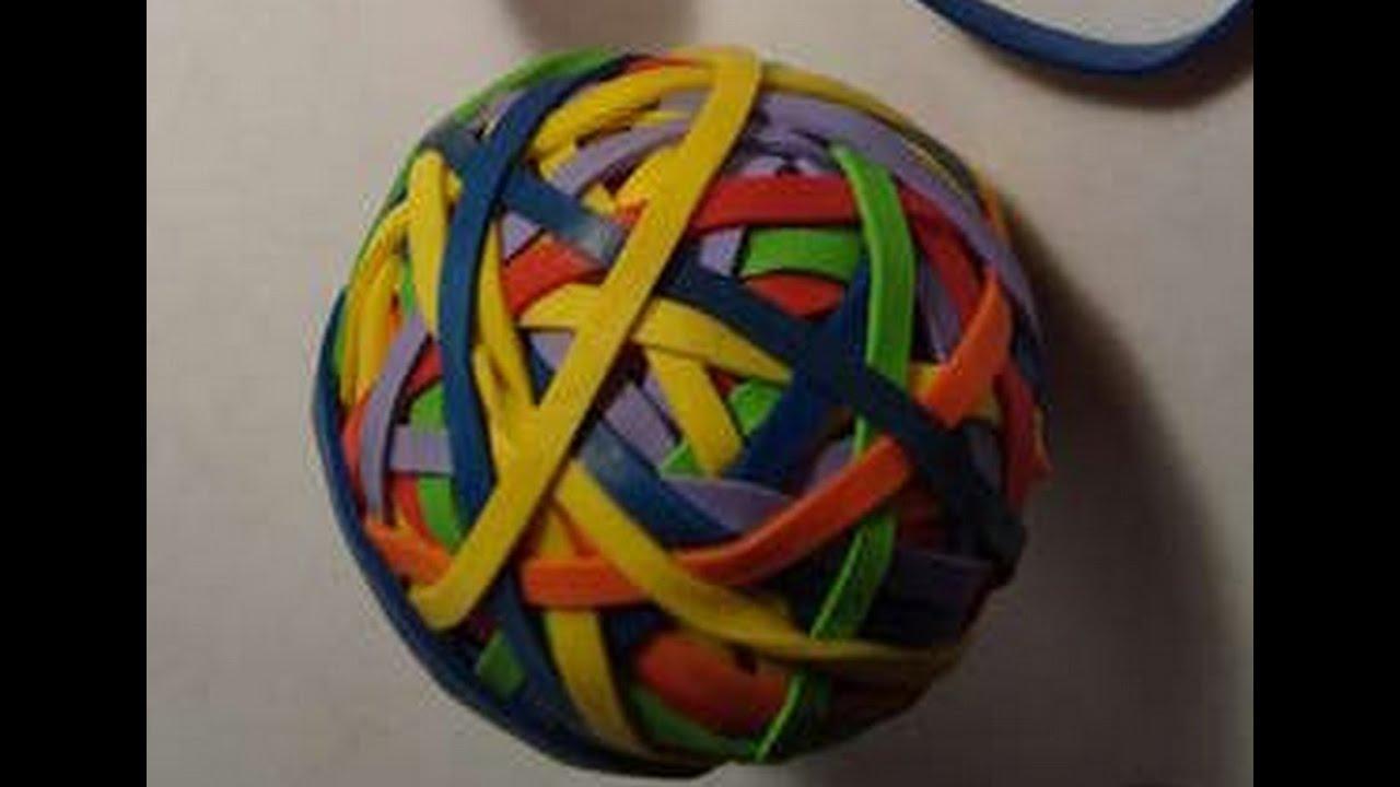 Как сделать мячик попрыгунчик из резинок
