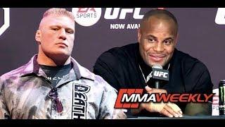 Daniel Cormier: Fake Fighting with Brock Lesnar,