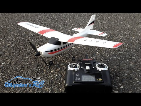 WLToys Cessna 182 RC Plane Unboxing. Build. Review. and Maiden Flight