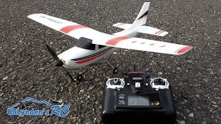 WLToys Cessna 182 RC Plane Unboxing, Build, Review, and Maiden Flight