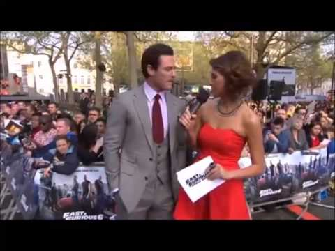 Luke Evans Best Moments