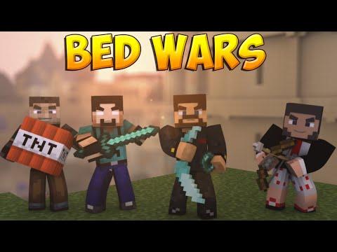 Minecraft Bed Wars #23 - Защитил кровать