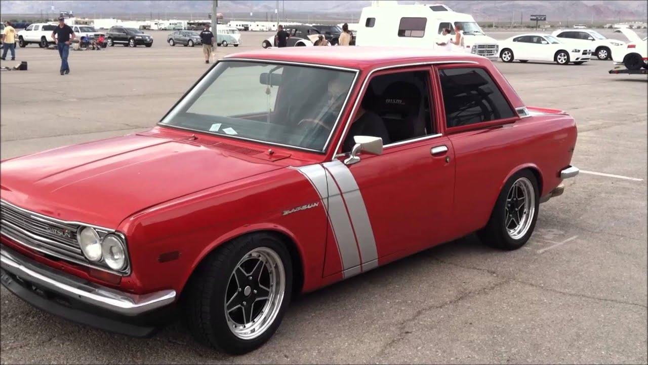 Nissan Fender Flares 1969 Datsun 510 Sylvia Classic - YouTube