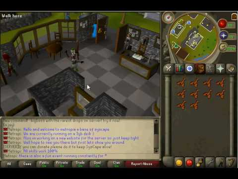 Metropia Runescape private server Syscape Video