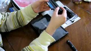 ACER AOD255-1345 DUAL CORE 10.1-INCH DDR3 RAM NETBOOK UNBOXING & QUICK INITIAL REVIEW