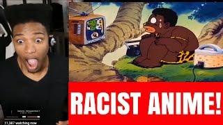 ETIKA REACTS TO A RACIST ANIME!!! [ETIKA STREAM HIGHLIGHTS]
