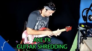 Amazing Axe FX guitar solo - crazy shredding