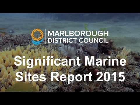 Significant Marine Sites Report 2015 Monitoring Update