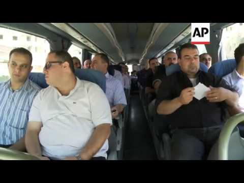 West Bank doctors arrive to treat Gaza injured