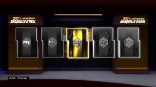 NBA2K19 MYTEAm Shaq Pack Reveal