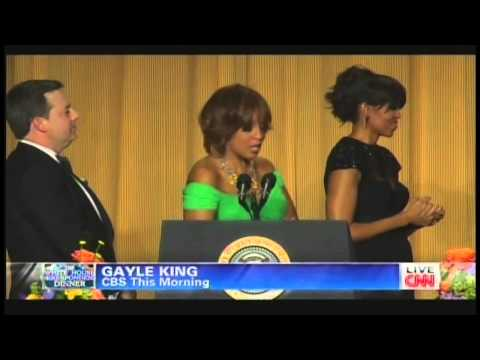 Gayle King & Michelle Obama White House Correspondents' Dinner (April 27, 2013)