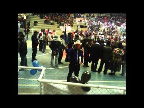 Campaña MAS Oruro Elecciones 2014 Juventides BOLIVIA
