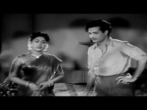 Missamma Movie || Savitri Serious On Jamuna Comedy Scene || Ntr, Anr, Savitri,jamuna video