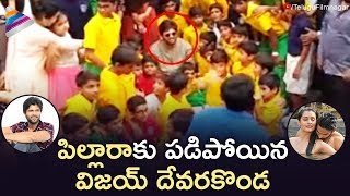 Vijay Deverakonda Enjoying Pillaa Raa Song Performance | RX 100 Movie Songs | Telugu FilmNagar