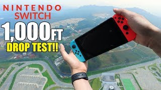 Nintendo Switch Drop Test from 1000 Feet!! | Durability REVIEW