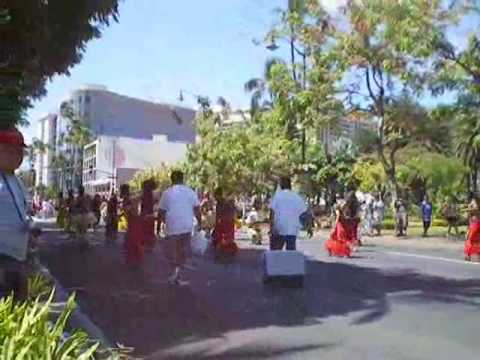 King Kamehameha Day Parade in Honolulu, Hawaii