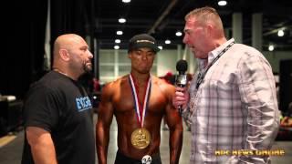 2015 IFBB Olympia MEN'S PHYSIQUE WINNER JEREMY BUENDIA