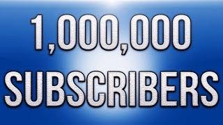 1,000,000 Subscribers!!! (H2O Delirious)