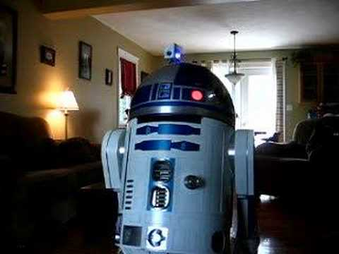 R2-D2 Shows off his new gadgets