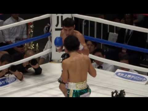 20131110 山中慎介vsアルベルト・ゲバラ 2R