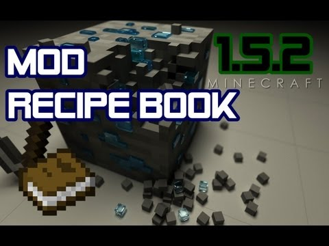 #Minecraft Mods - Recipe Book Sem Alterar a .minecraft!!! - 1.5.2