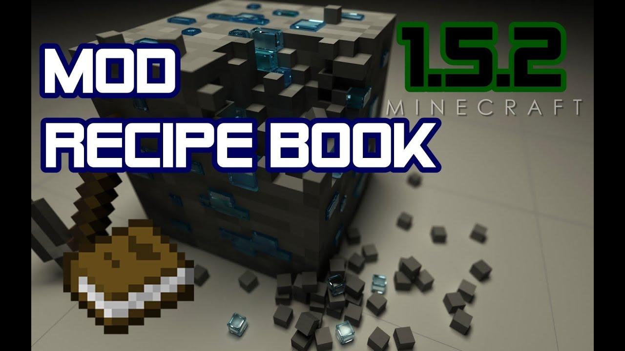 how to make recipe book minecraft