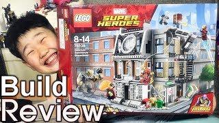 [생방송 레고 조립] Lego 76108 어벤져스 닥터 스트레인지의 생텀 대결
