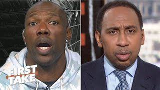 T.O. to Stephen A.: It's like you're telling Colin Kaepernick to 'shut up and play' | First Take