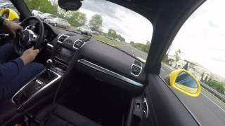 2015 Porsche Cayman S (981) Borla Exhaust Loud Acceleration