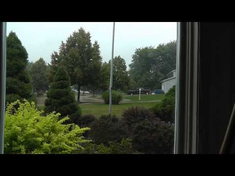 Severe Thunderstorm With Tornado Warning On July 8,...