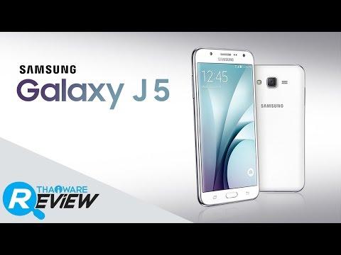 รีวิวมือถือ Samsung Galaxy J5 สมาร์ทโฟนเซลฟี่หน้าใส ด้วยแฟลชหน้า LED