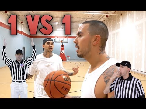 1V1 BASKETBALL VS LEVI (FIGHT)