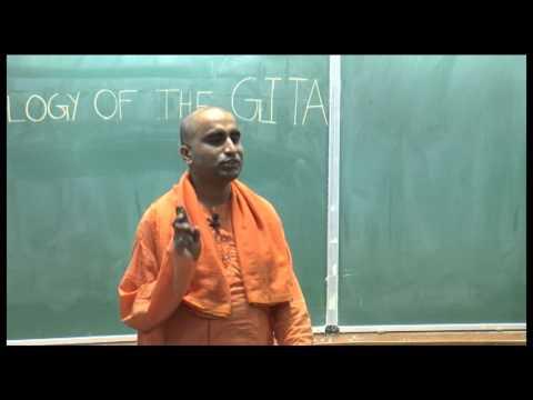 PSYCHOLOGY OF THE GITA: Swami Narasimhananda at IIT Kanpur