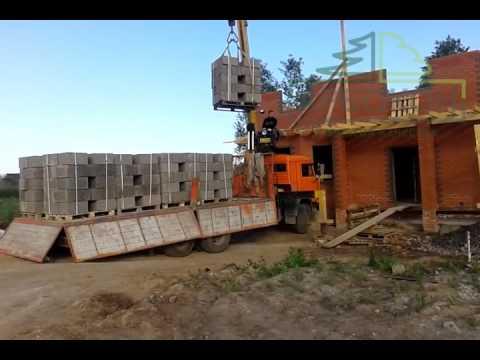 Строительство дома из арболита с облицовкой кирпичом в г.Ржев. Финал.