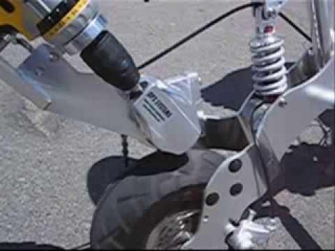 Fúró hajtja a kerékpárt