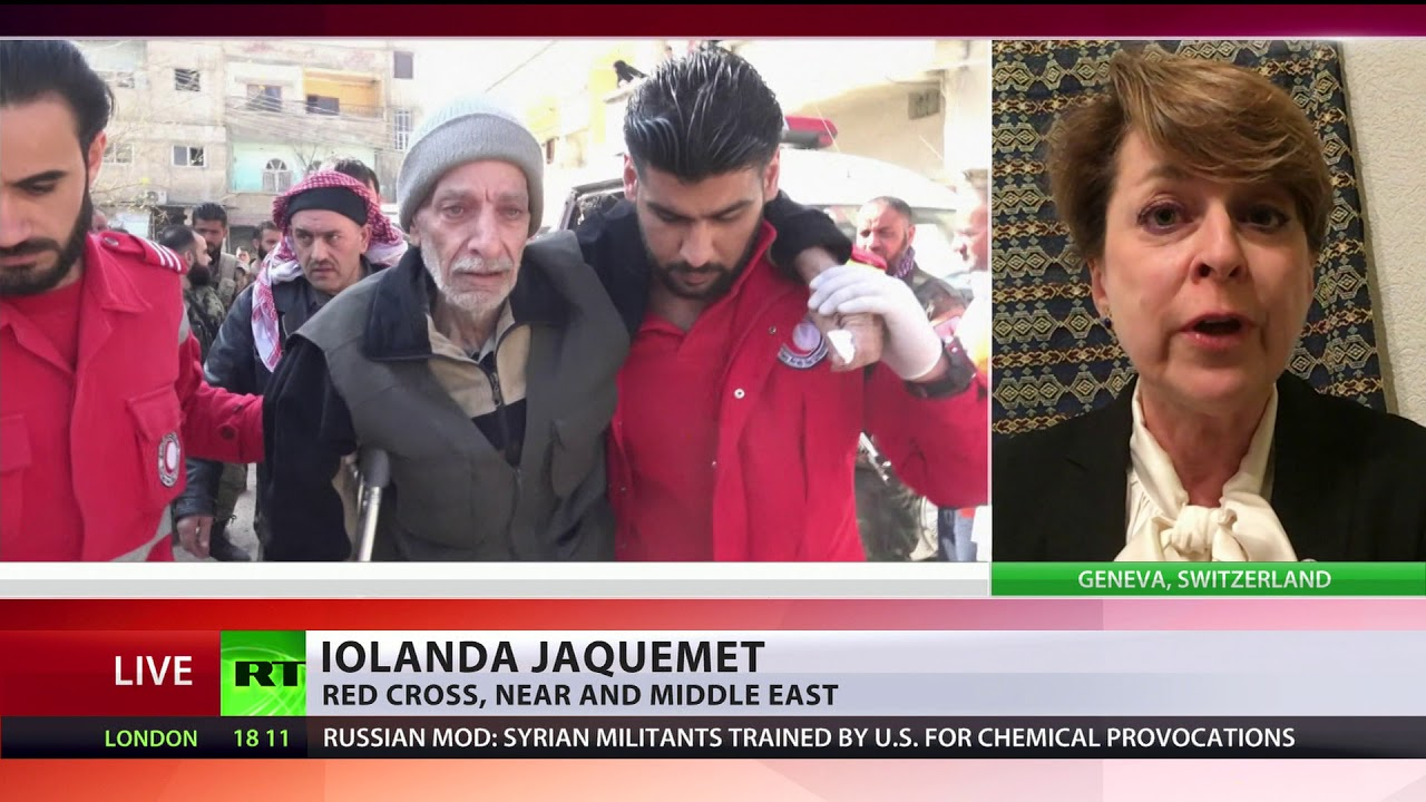 'Situation in E. Ghouta is catastrophic' – Red Cross spokesperson