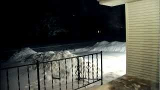Kansas Snow Storm Time Lapse HD