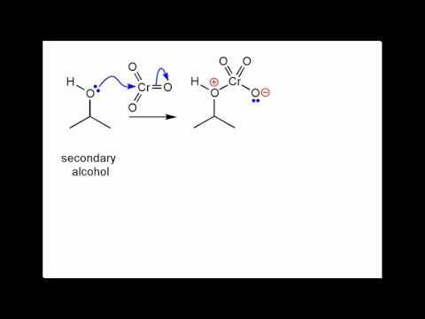 Oxidation of an alcohol.wmv