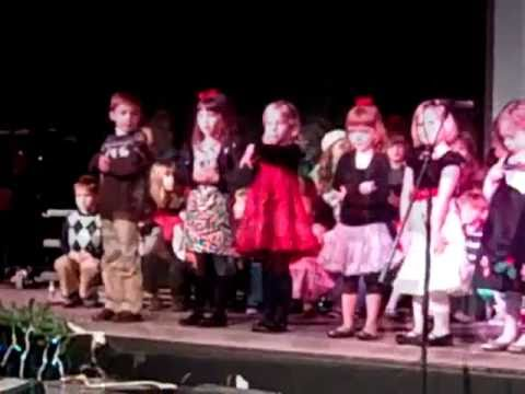 Riley Nicole Grace Christian Preschool Christmas Program 201