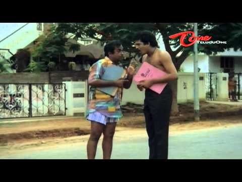 Telugu Comedy - Rajendra Prasad Nude Show On Road
