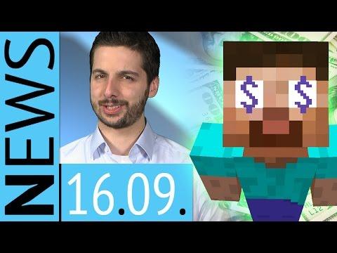 Microsoft kauft Minecraft für 100 Bazillionen Dollar - News - Dienstag, 16. September 2014