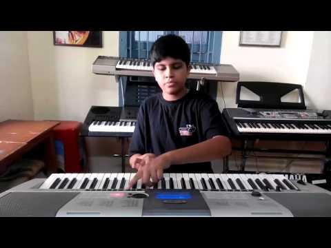 dil ka aalam from aashiqui 1990 on keyboard by pavan vinay