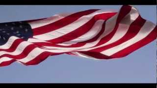 The Star Spangled Banner with American Flag