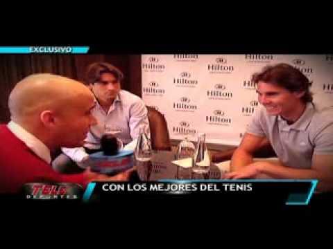 Entrevista exclusiva a Rafael Nadal y David Ferrer en su visita a Lima