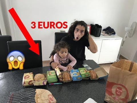 BURGER A 3 EUROS CHEZ QUICK ! ON TEST LES NOUVEAUTÉ, DÉGUSTATION