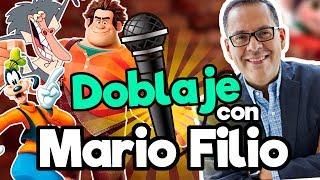 FANDUB (Doblaje Goofy, Ralph El Demoledor, Rey Julien) con Mario Filio / Memo Aponte