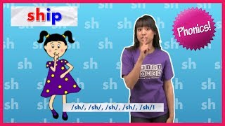 "Phonics Song: ""Sh"" Quiet Girl (From: Sounds Fun Phonics)"