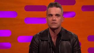 The Graham Norton Show Robbie Williams Handjob Story